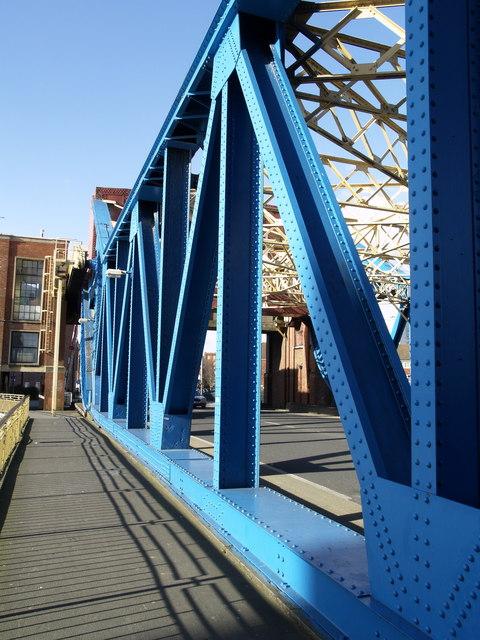 Drypool Bridge Steelwork