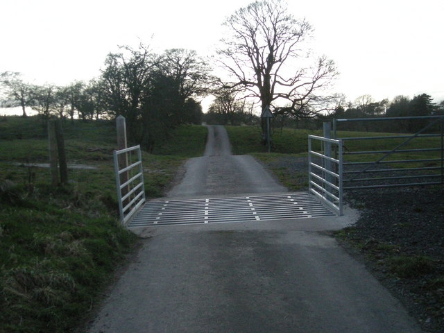 Hopton Bank Cattle Grid