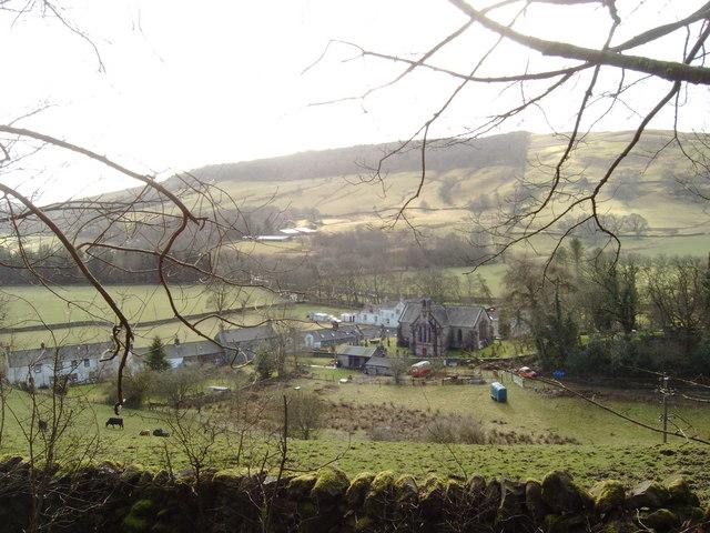 The village of Tynron