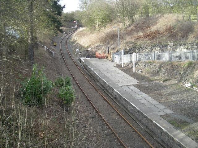 Disused platform