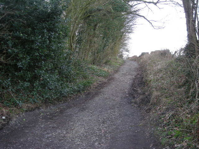 Footpath to Benthall Hall
