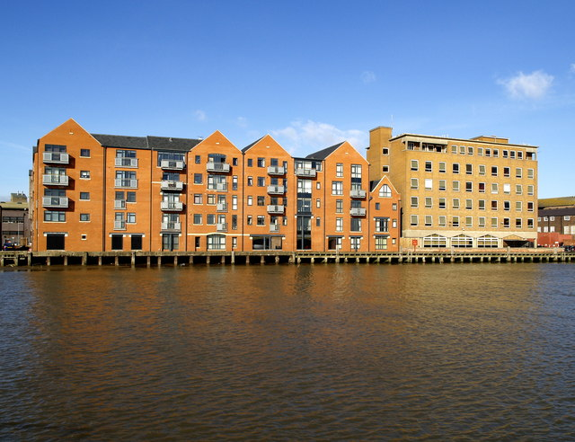 Riverside Buildings near Myton Bridge