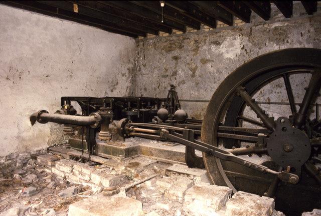 Hydraulic engine Allenheads Mine