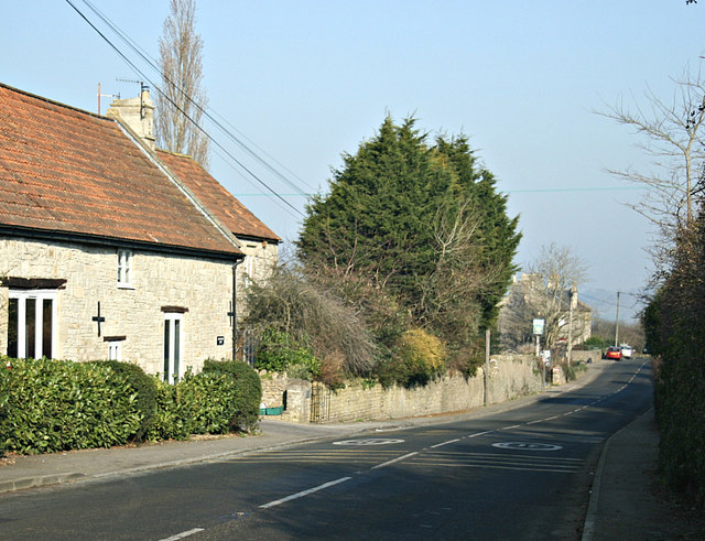 2008 : The A431 at Kelston