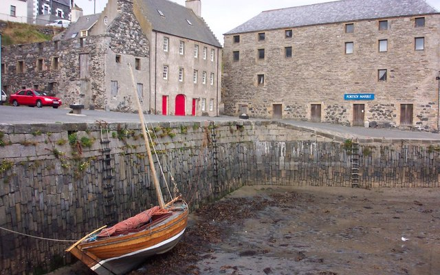 Low Tide at Old Portsoy Harbour