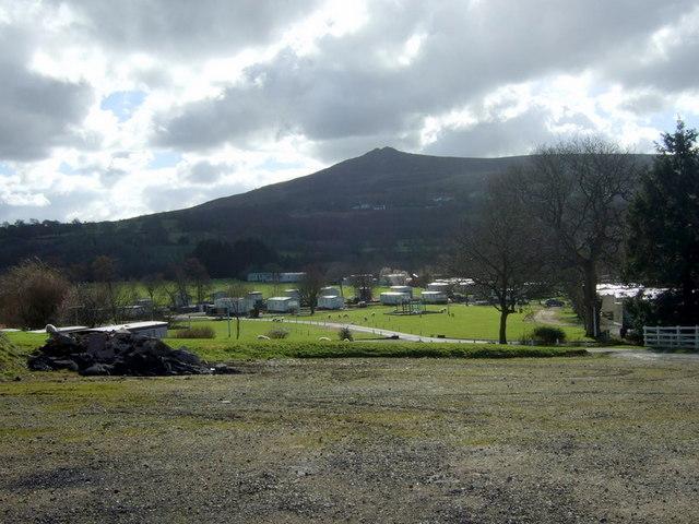 Llwyngwair caravan park