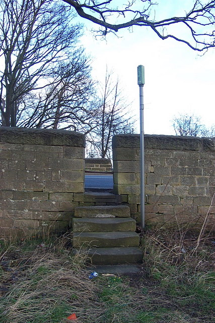 Steps and Stile at Harewood bridge