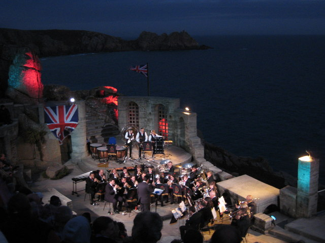 Minack Theatre 'Last Night of the Proms' 2007