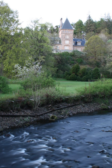 Ardtornish House from Rannoch River