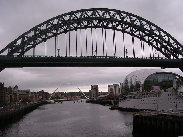 Tyne bridges and the Sage Centre