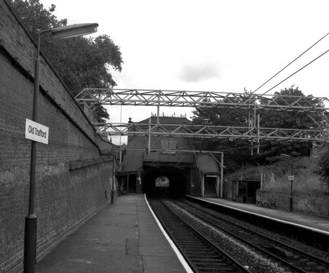 Old Trafford station