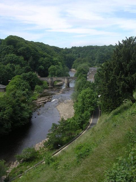 Bridge over the River Swale Richmond