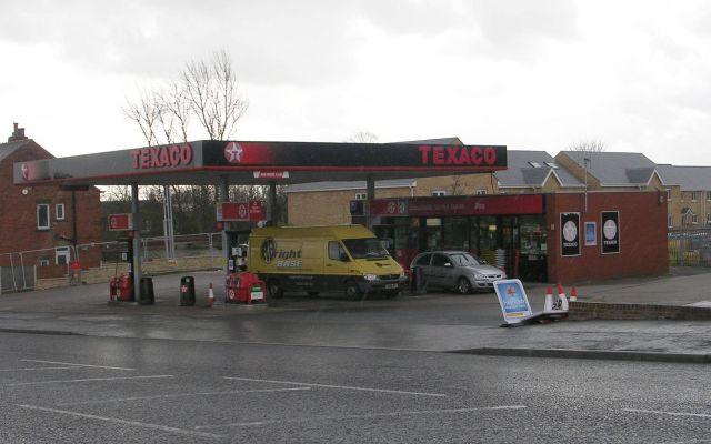 Texaco Filling Station - Halifax Road