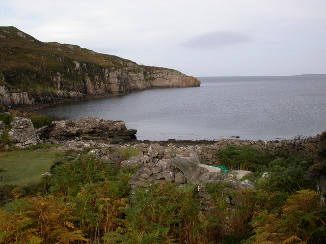 Small Bay, looking towards Rubha Buidhe