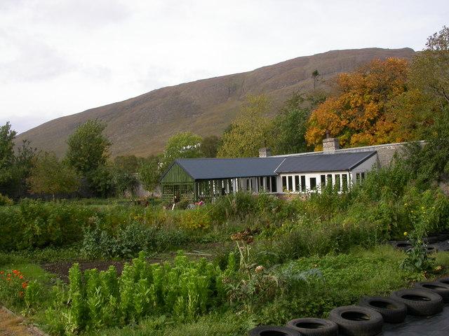 Walled Garden at Applecross House