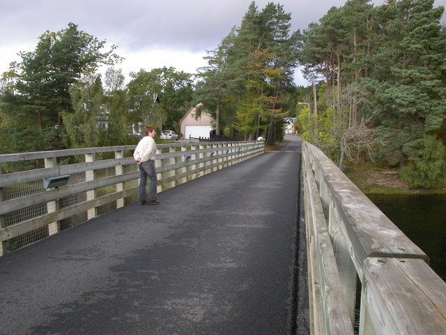 Bridge over the Spey at Kincraig