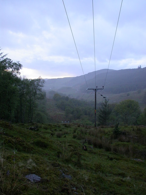 Power Lines, Glen Lonan