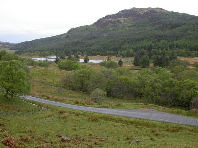 Lochan in Glen Lonan