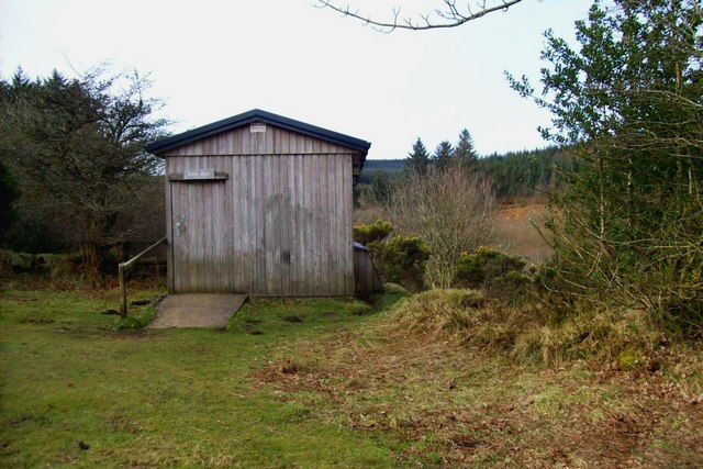 Bird Watching Hide at Fernworthy Reservoir