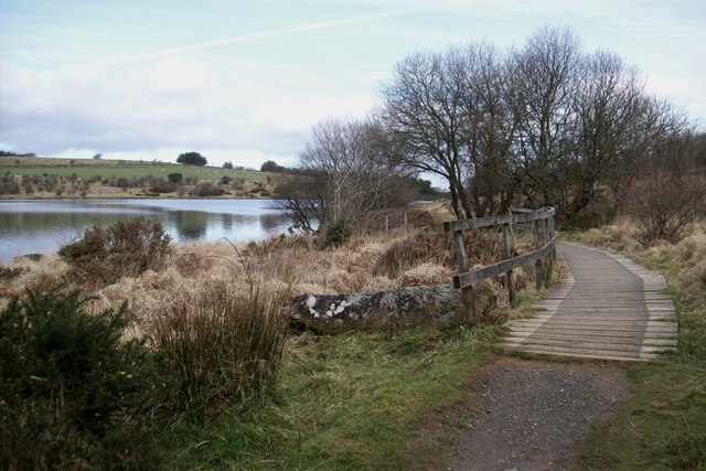 Footpath at Fernworthy