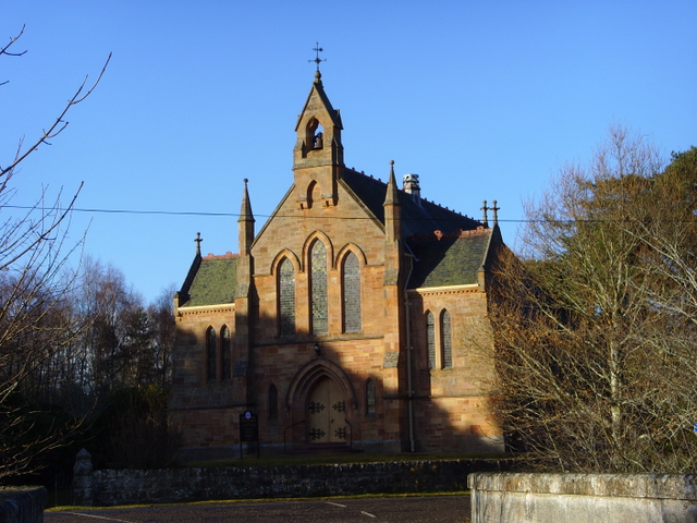 Church at Logie Easter