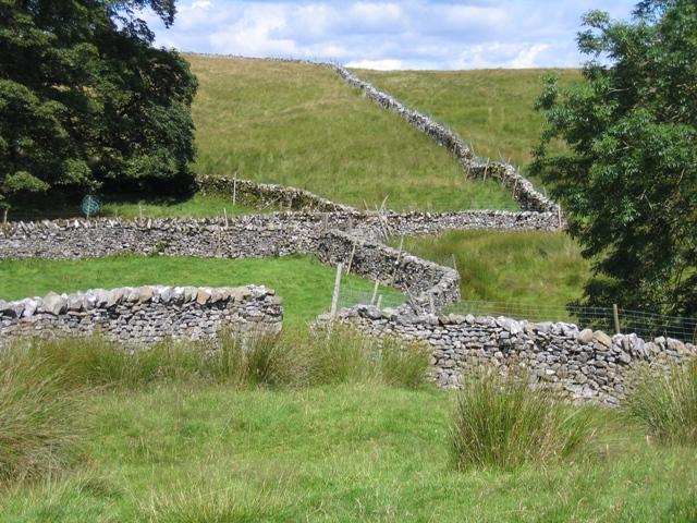 Stone walls at Thorns