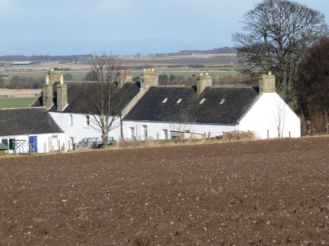 Cottages near Wester Rarichie
