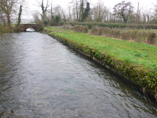 Bridge over the Frome at Bockhampton