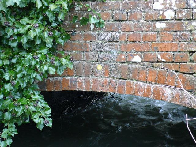 Brick Bridge over the Frome at Bockhampton