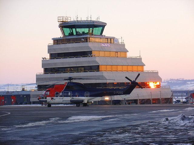 Aberdeen Airport Control Tower