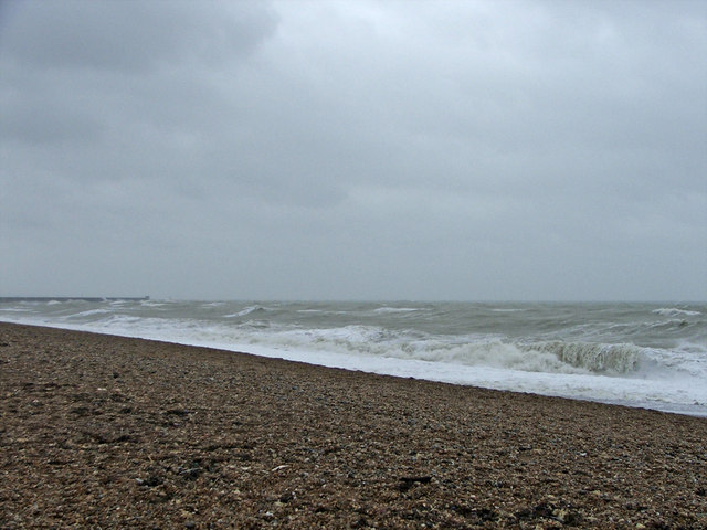 Rough Sea at Brighton, East Sussex