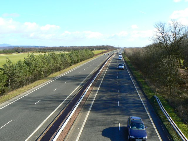A92 looking east