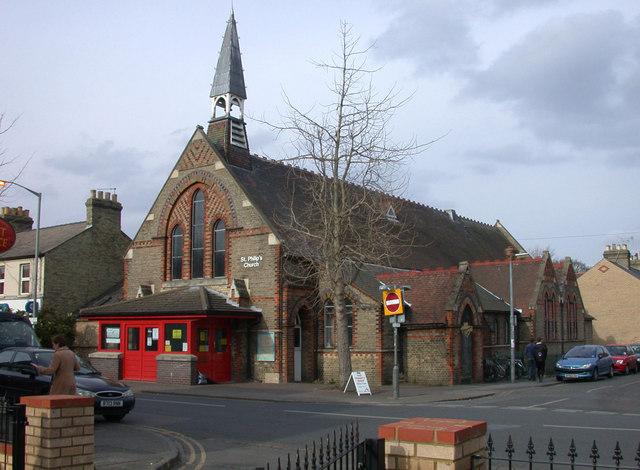 St Philip's church, Mill Road