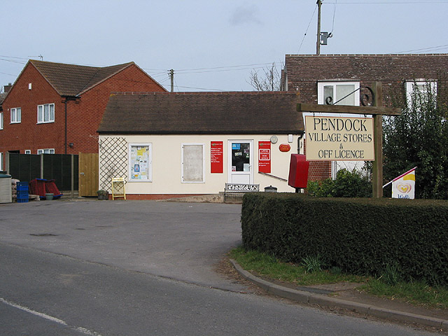 Post Office, Pendock
