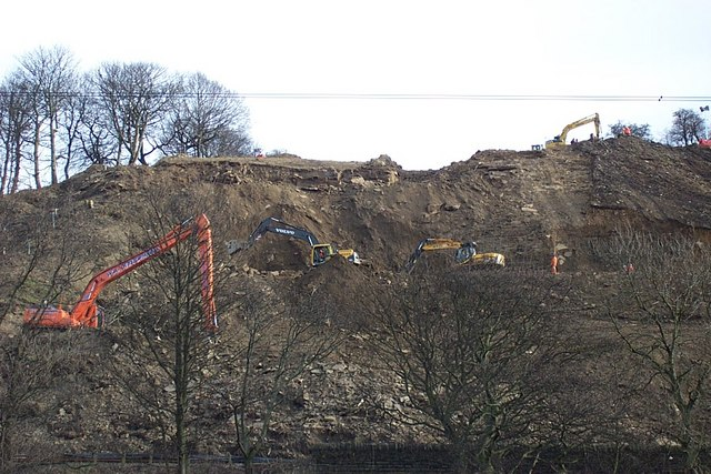 Landslide Repair Works at Reins Wood