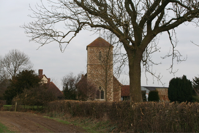 Church Tower and Hall at Langley Green