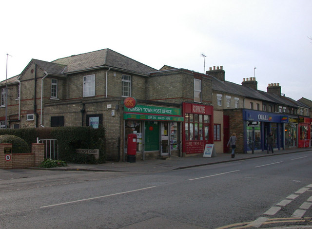 Romsey Town Post Office