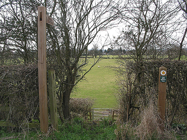 Footpath through the pasture