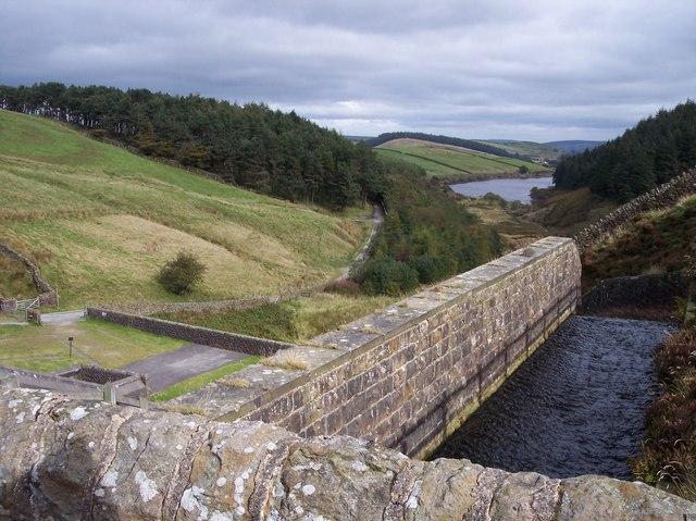 Ogden Reservoir Spillway
