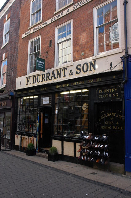 F Durrant & Son, Worcester