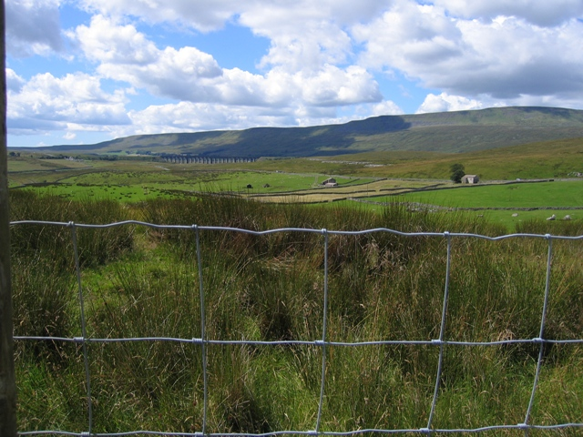 View towards Ribblehead and Whernside