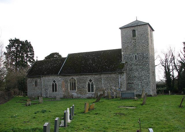 The church of St John the Evangelist