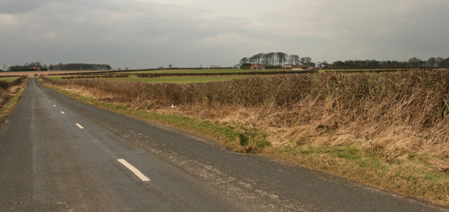 High Hunsley Road over Little Weighton Common