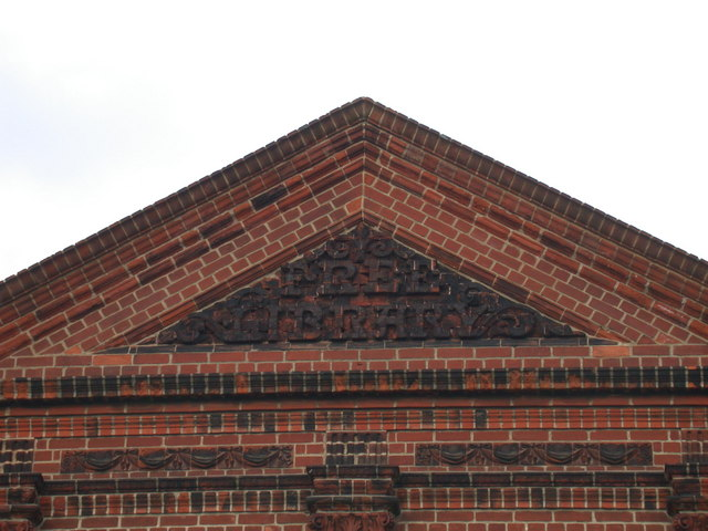 Old Mill Road Library - detail