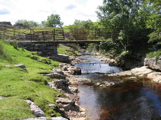 Thorn Gill and footbridge