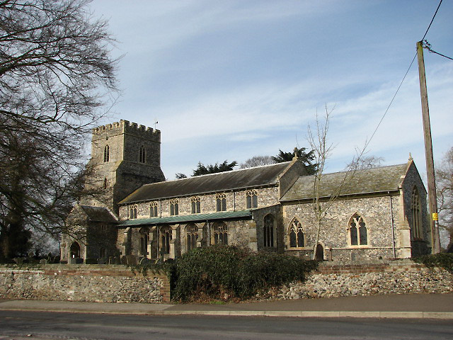 The church of St Nicholas