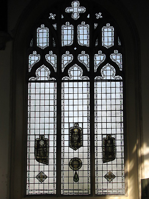 The church of St Nicholas - medieval stained glass