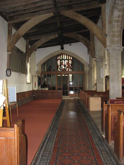 The church of All Saints - north aisle