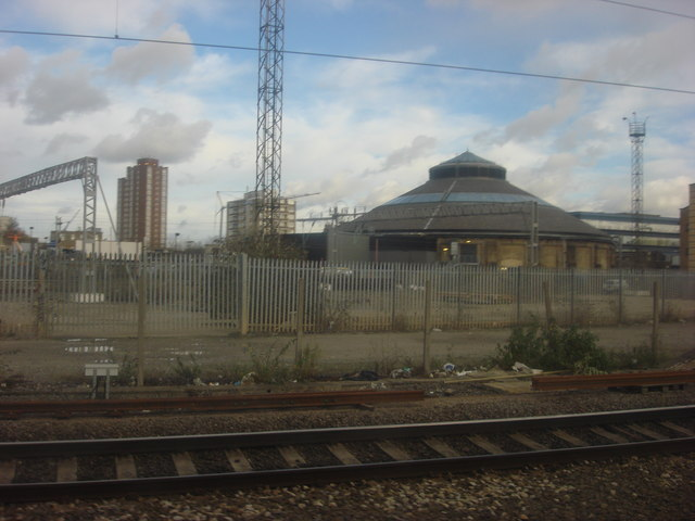 The Roundhouse from the West Coast Main Line