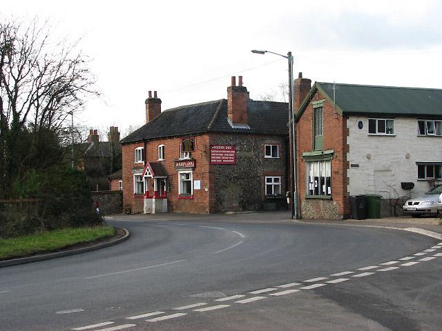 The Golden Dog pub on High Street